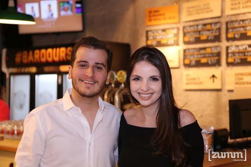 Neto Costa e Jessie Caruzo