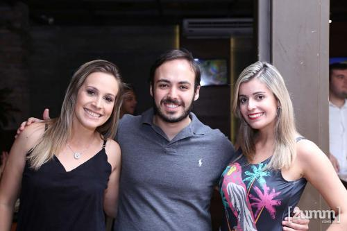 Ana Luiza Sacardo, Dalton Freitas e Ana Claudia Sivério