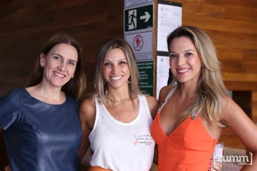 Ana Paula Rodrigues,Thais Palma e Marilia Guimarães