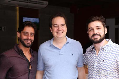 André Cajuru, André Ignacio e Fernando Adarti