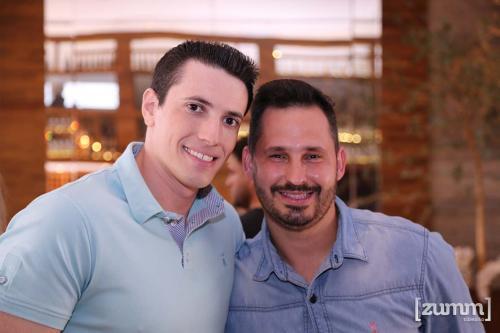 Luiz Garnica e Tom Santos