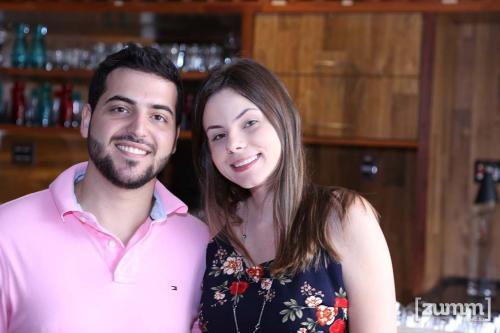 Luiz Gustavo Gardim e Livia Azevedo