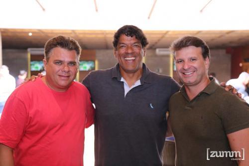 Magno Nobrega, Raimar Oliveira e Rodrigo Tatiba