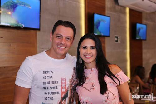 Maicon e Fabiana Benzoni