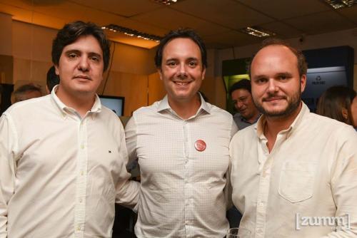 Frederico Escobar, Victor e Fernando Almeida