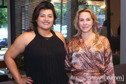 Virginia Tourinho e Larissa Arantes Guina