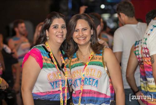 Juliana Koga e Francine Mendonça