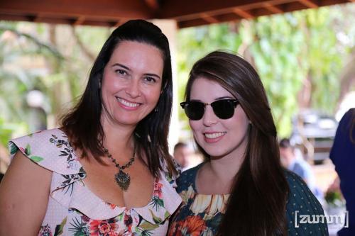 Valeria de Felipe e Nathalie Alcantara