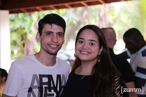 Rubens Moura e Livia Rocha