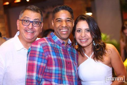 Adilson Haddad, Rafael De Paula e Lays Schiavinatto