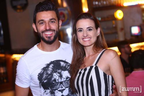 Alexandre Oliveira e Suelyn Gerin