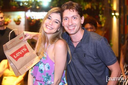 Mariana Campos e Wil Targa