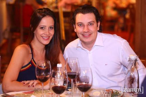Bruna Menezes e João Marcelo Aguiar