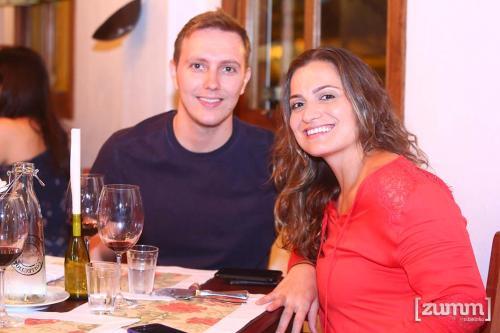 Gustavo Coelho e Marina Magalhaes