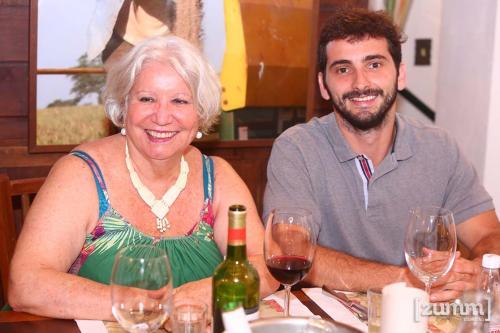 Lucia Cruz e Alexandre Copesco