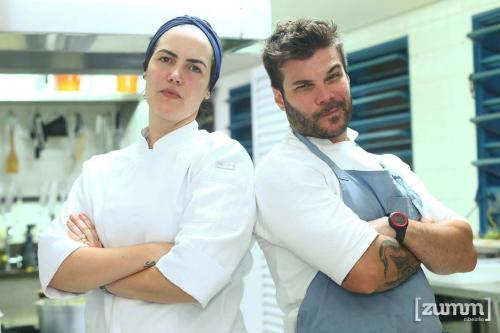 Chef Marina Pereira Alvim e Chef João Rangel