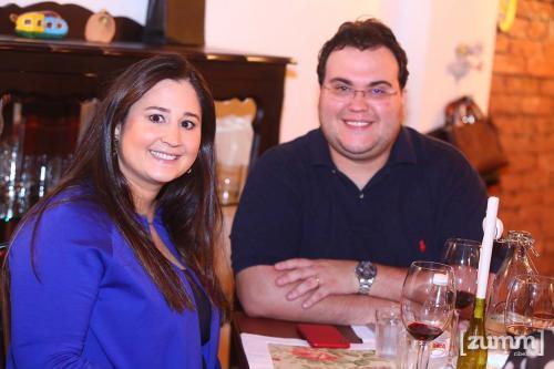 Taymara e Marcelo Longobardi