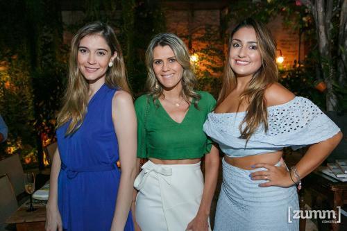 Mariana Campos, Sol Moraes e Bella Haddad