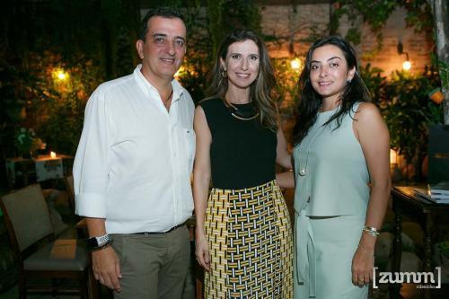 Paulo Villas Boas, Constance Zahn e Fernanda Aguiar