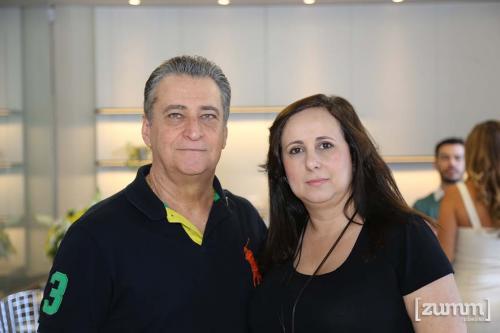 Celso Malerba e Aline Branco
