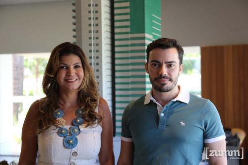 Mariza Sales e Luis Artur Nacarato