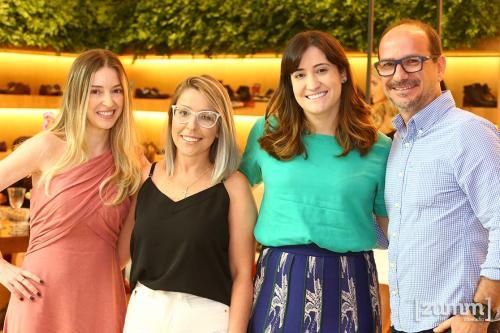 Aline Flausino, Dayany Meireles , Carolina Flausino e Roberto Barbosa