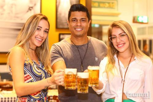 Isabela Borges ,  Hamilton Costa e Bebela Rodrigues