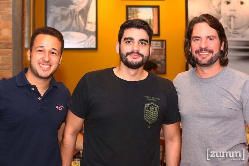 Julio Klein, Pedro Lopes e Manza