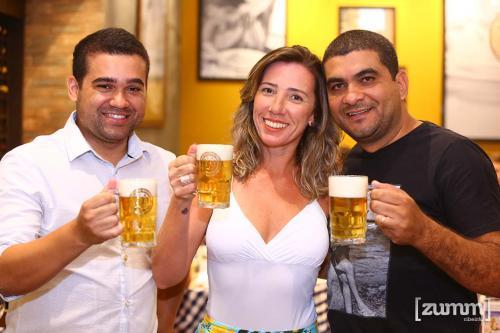 Thiago Fernandes, Fernanda e Givaldo Santos