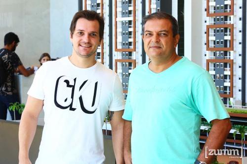 Jonas Marafon e José Cândido