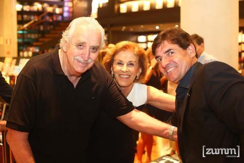 Iskandar, Mariana Jabali e Duarte Nogueira