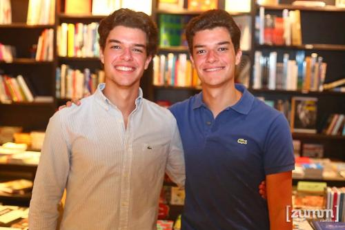 João Miguel e Octavio Domingos Nogueira