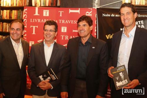 Marcos Botelho, João Fernandes, Duarte Nogueira e Vander Giordano
