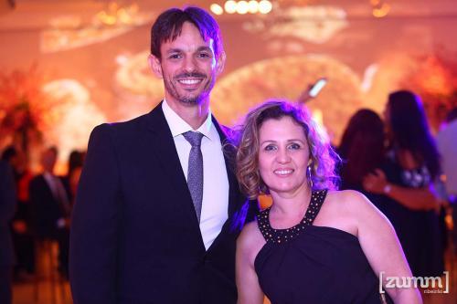 Guilherme Nogueira e Cristina Falquetti