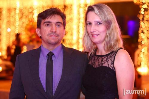 João Pimenta e Cristiane Vallim
