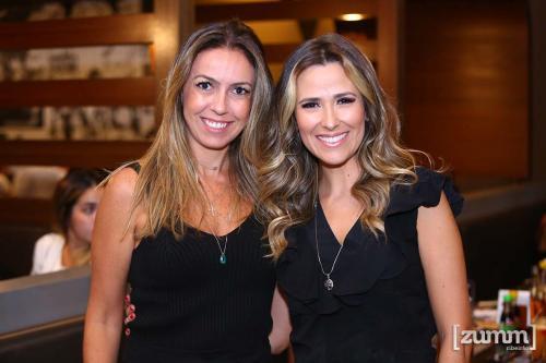 Tati Ribeiro e Juliana Peres