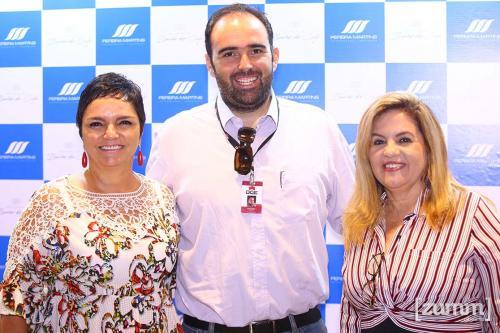 Nádia Sanches, Gustavo Silva e Elaine Aparecida Silva