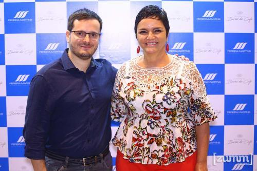 Rodrigo Giachetta e Nadia Sanches