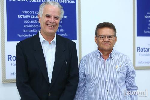 Arlindo Sccihieri Filho e Donizete Martins