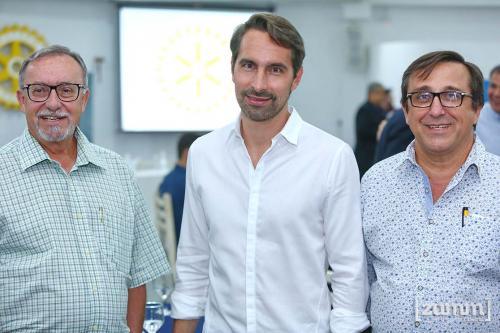 Gerson Wey, Leonardo Mattaraia e José Carlos Spanghero