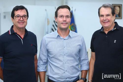 Julio César Soncini, Rodrigo Saccarelli e Carlos Alemcastre