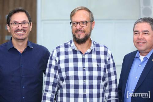 Paulo Ferreira, Flávio Delago e Odalecio Martins