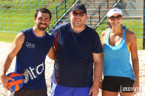 Fernando Cadamuro, Marco Argenton e Fernanda Martinelli