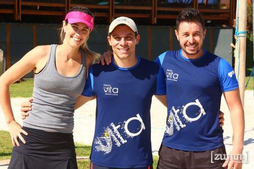 Marina Junqueira, Éder Leone e Ricardo Berti
