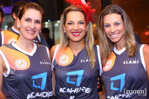 Ana Paula Abrahao, Marilia Galhardo e Thais Palma