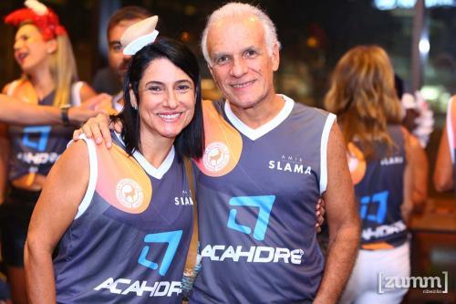 Luiza Caram e Marcelo Ribeiro