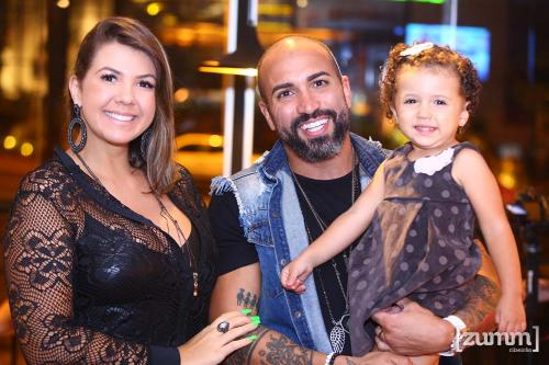 Clicia Victori, Paulo Junior e Helena