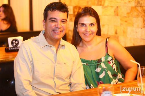 Jorge Vinicius e Daniela Barros