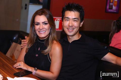 Mariana Rossi e Ricardo Iwakura
