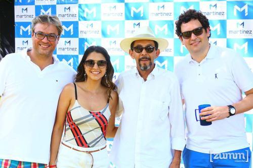 Alexandre Silveira ,Wanessa Santos,  Luiz Vicente Ribeiro Corrêa e Rafael Martinez